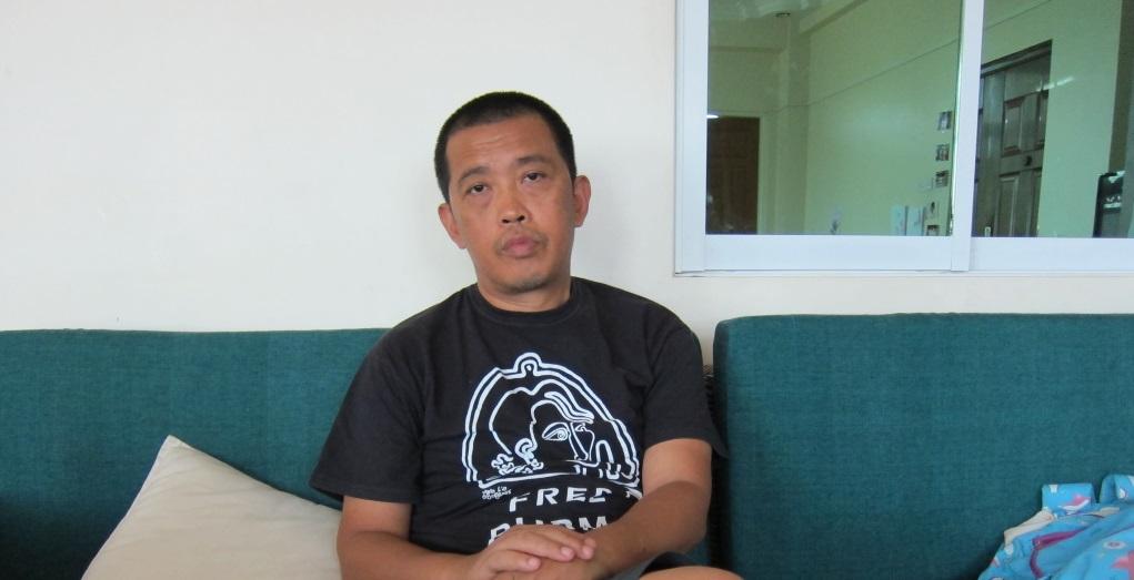 緬甸著名藝術家Htein Lin曾為「八八世代」的學生領袖