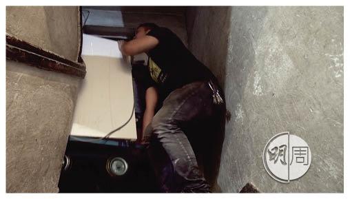維修隊會翻新舊電器,送給有需要的街坊,師傅曾將洗衣機抬上六樓兼免費安裝。