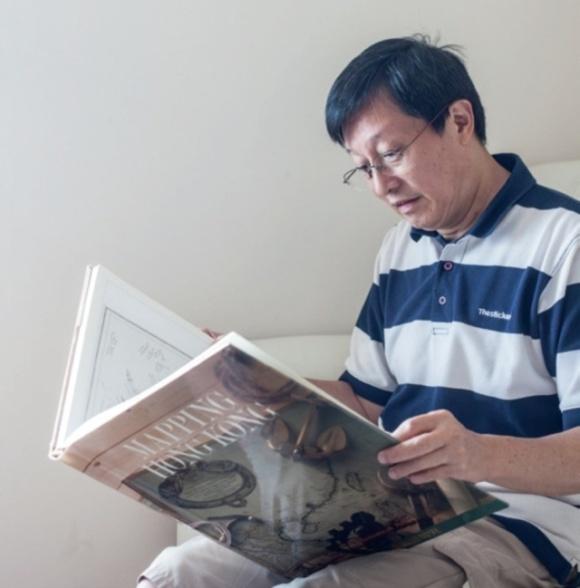 《香港工程考》作者兼退休工程師馬冠堯。