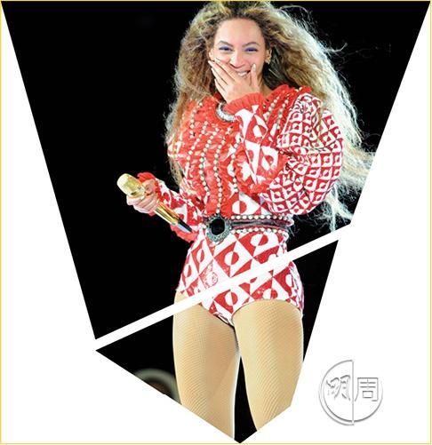 視珠片有如日常基本維生品者,其中一種是True Diva,喂大佬,Diva喎,唔係話唔閃嘅嘢都着得上身呀?(Beyoncé)