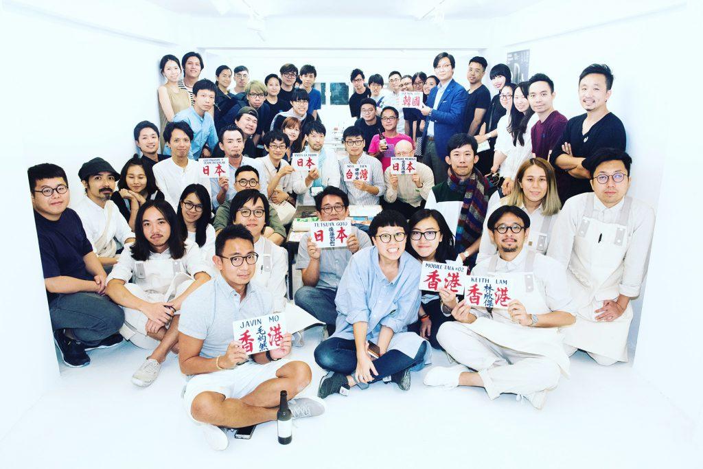 中港台日韓五地設計師與藝術家竟有着相似又迥異的想法