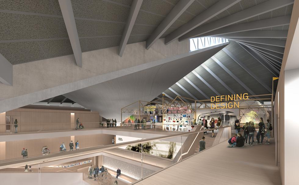 倫敦設計博物館新館的室內設計出自極簡主義大師John Pawson之手。