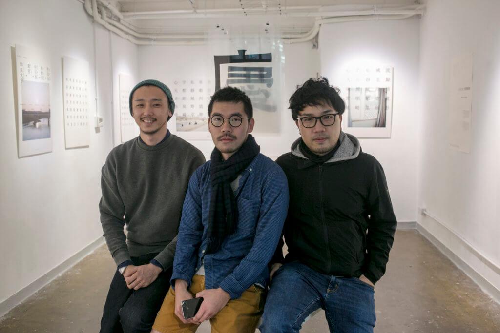 (左起)設計師張軒豪、葉忠宜和許瀚文,三人雖風格、背景迥異,一碰面卻有說不完的話,合作起來充滿火花。