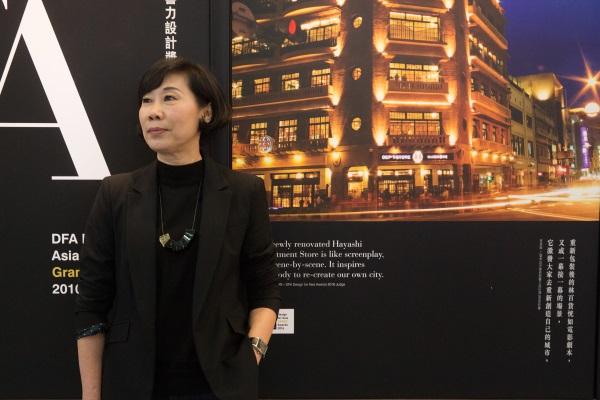 林百貨獲得香港設計中心頒發「2016年DFA亞洲最具影響力設計獎大獎」,陳慧姝來港演講,分享活化林百貨的心得。