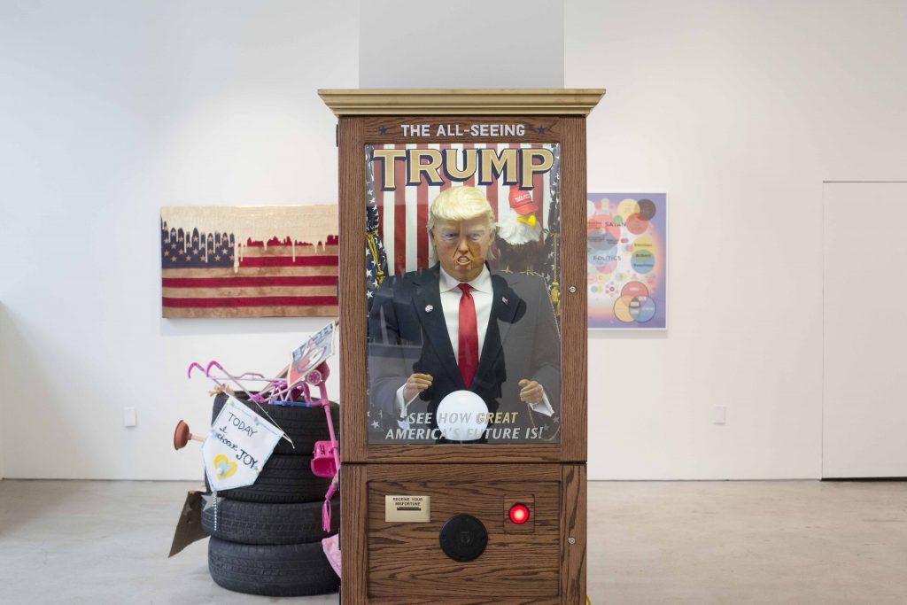 特朗普當選成為了紐約藝術界的夢魘,同時卻也是他們反思的契機。