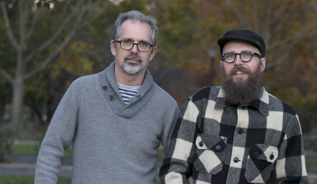 Stephen(左)是行動者,與藝術家Steve互補不足。