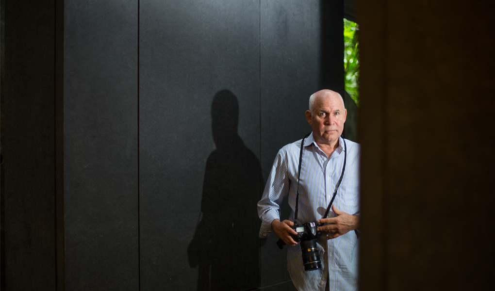 Steve McCury認為自己現在是利用照片說故事的人
