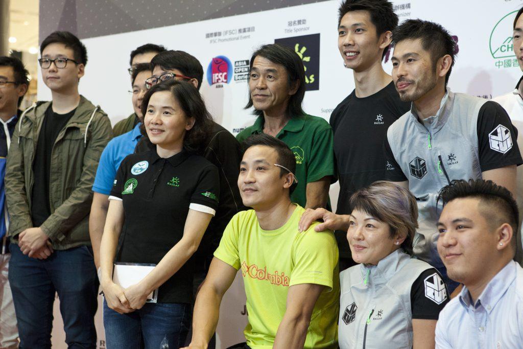 黎志偉攀上獅子山後,很多外國高手鼓勵他再次踏上攀岩場地。