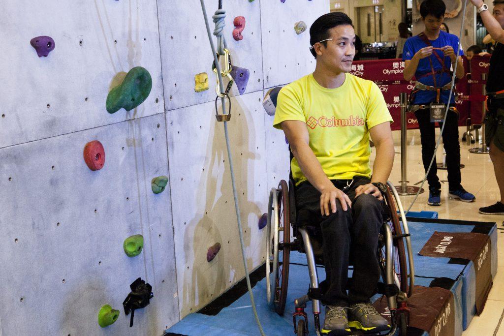 """競技攀岩已成為2020東京的新項目,黎志偉已準備投身做殘疾攀岩運動員。夏天即將赴美國參加""""The 2017 Adaptive National Championship""""。這是他受傷後首次參加的攀岩比賽,藉此一步一步向東京奧運邁進。"""