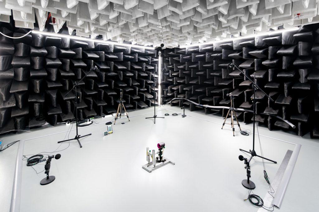 英國電器巨擘Dyson新加坡科技中心設有聲學實驗室。