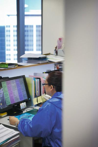在利民會工作,May找到了新的人生價值,與同事相處融洽,時刻感恩身邊的人。