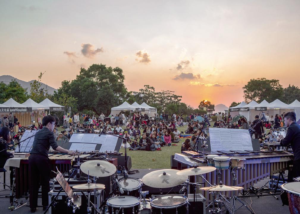 現時西九內的苗圃公園亦常設不同戶外活動,如自由約及自由野等。