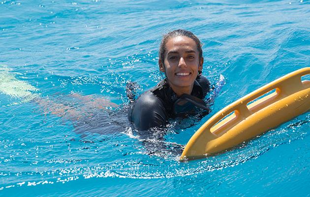 為海洋工作,LisaD'Silva每天心存感激。