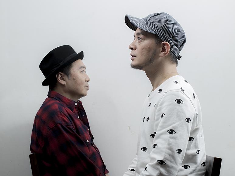 黃耀明(右)和劉以達在八十年代組成達明一派,轉眼三十年,其人其歌已成本土文化的傳奇。他們說,現在重組是為了老朋友,多於音樂。