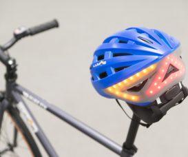 Lumos智能頭盔只比一般單車頭盔重一百克,不算太重。
