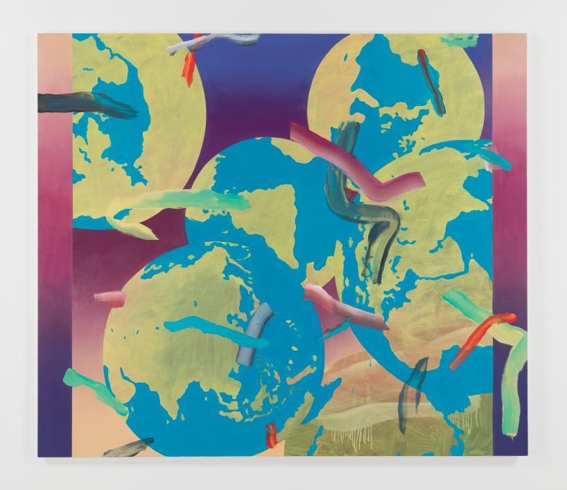Gregory Edwards,《World Painting 1》,2015(鳴謝藝術家及紐約 47 Canal 畫廊)