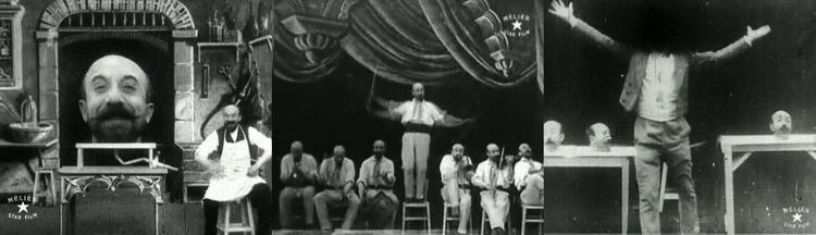 Georges Méliès的作品《L'homme à la tête en caoutchouc》及《L'Homme-Orchestre》,也是以早期的電影特效拍攝而成。
