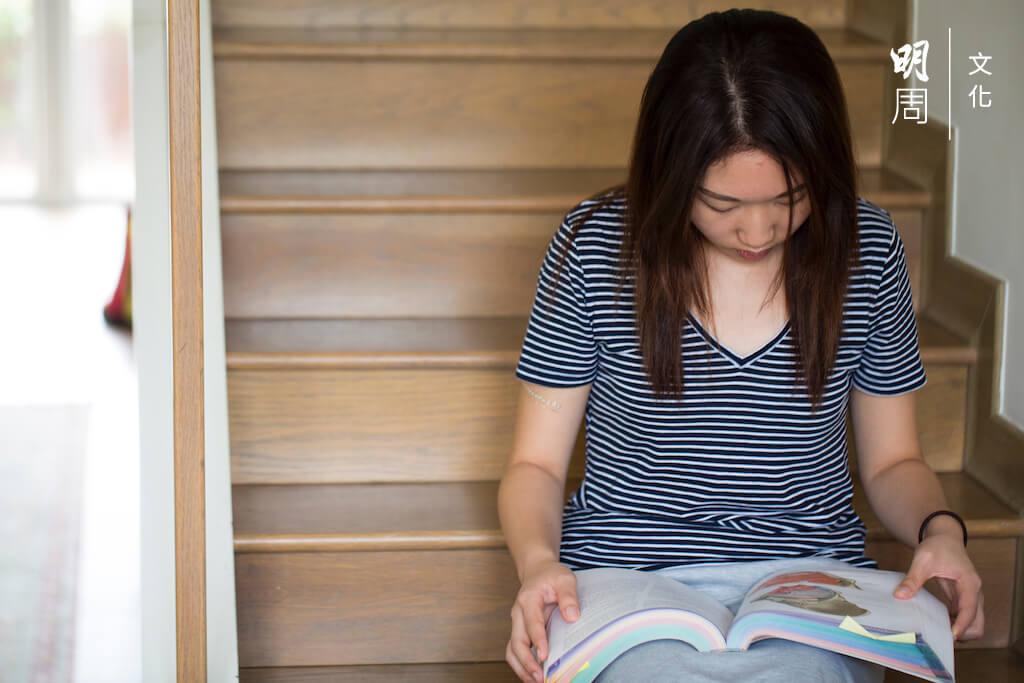 馮子珊今年升讀醫科三年級,去年上完解剖課之後,她更肯定自己要做一個好醫生。