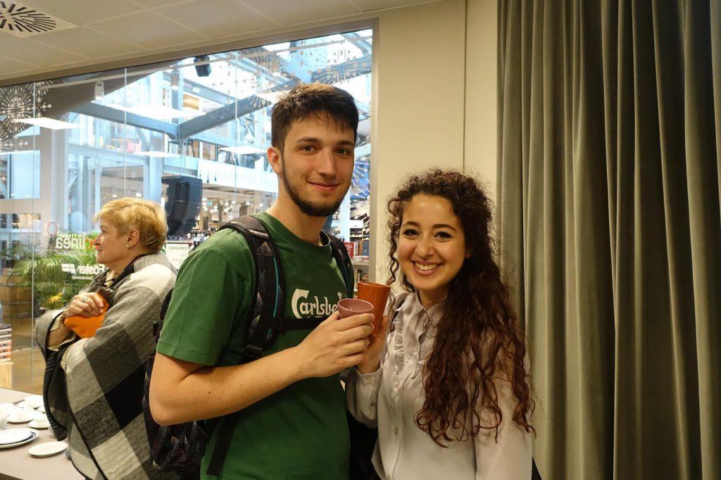 (女) Emanuela Stimolo (25歲) 工程學生 (男) Leonaroo Gaffuri Pagani (25歲) 醫護學生