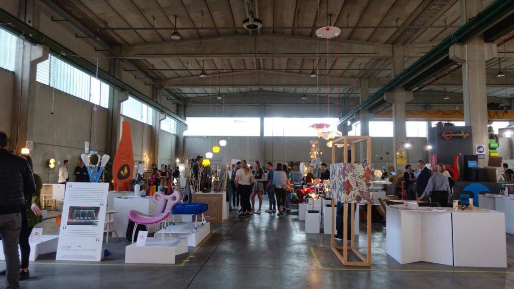 設計區設有多個空間專門展示世界各地學生作品