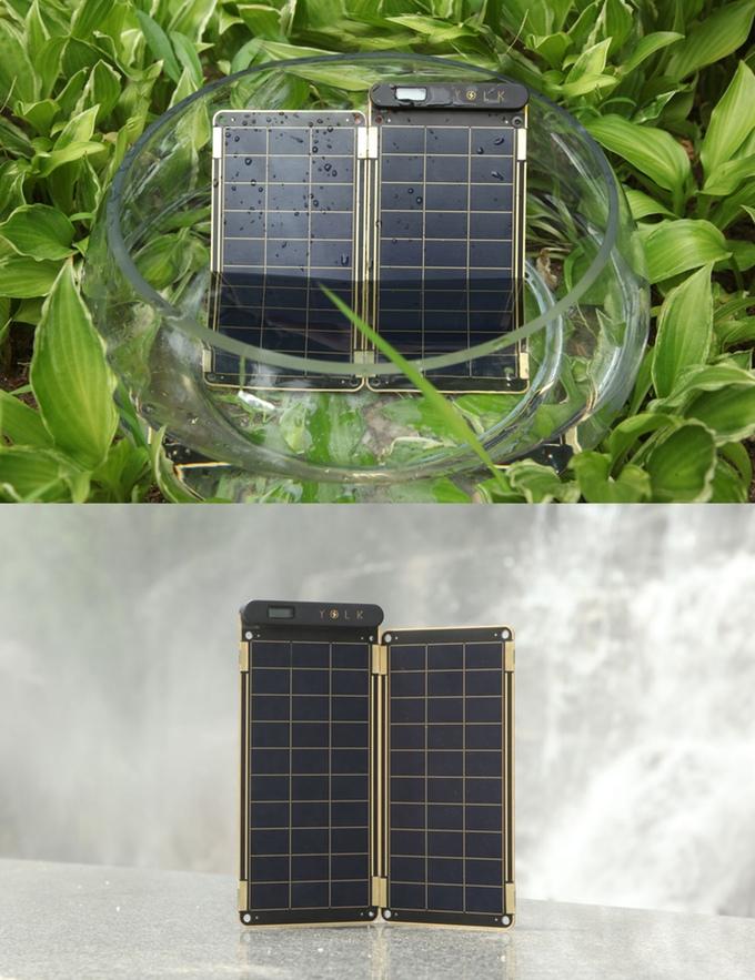 太陽能板的板面防塵防水,USB插頭位置以外的地方均可用清水清潔。