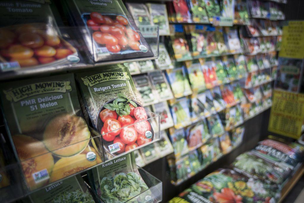 有機種子的包裝會印上有機認證。