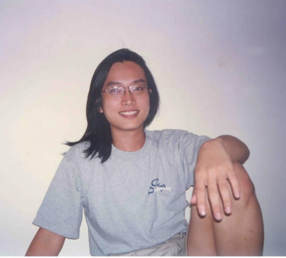 陳允中1997離開台灣前