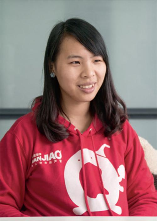 李曉娟曾是工人運動領袖,近期因為家庭離開了自己喜歡的工作。