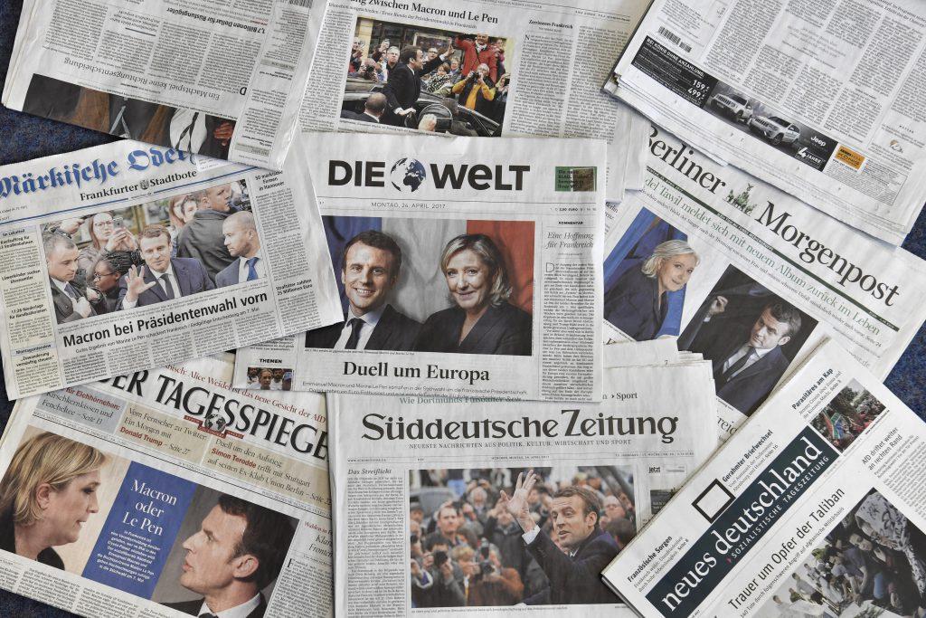 歐洲各國緊張法國大選