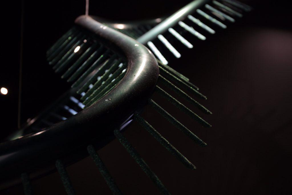 智能化布料吊燈裝置是吳燕玲設計的獨有技術