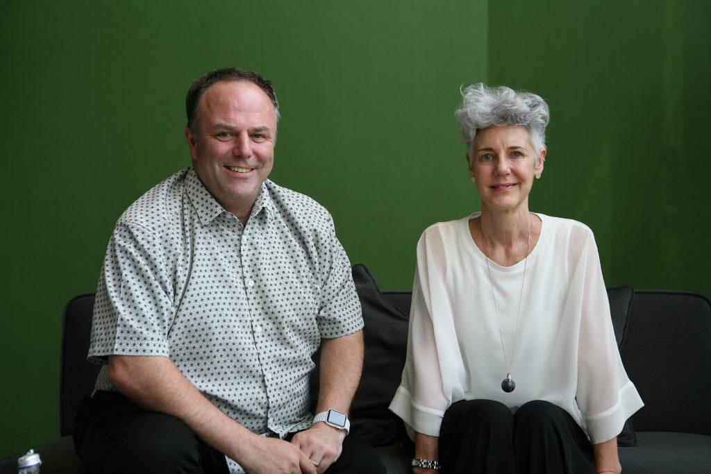 >Open House設計師是Mark Dytham(左)和Astrid Klein,他們同時是代官山蔦屋書店設計師。
