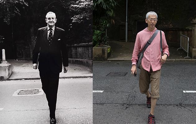 他曾於七十年代偶遇麥理浩,拍下其全身照,將歷史人物還原至日常。