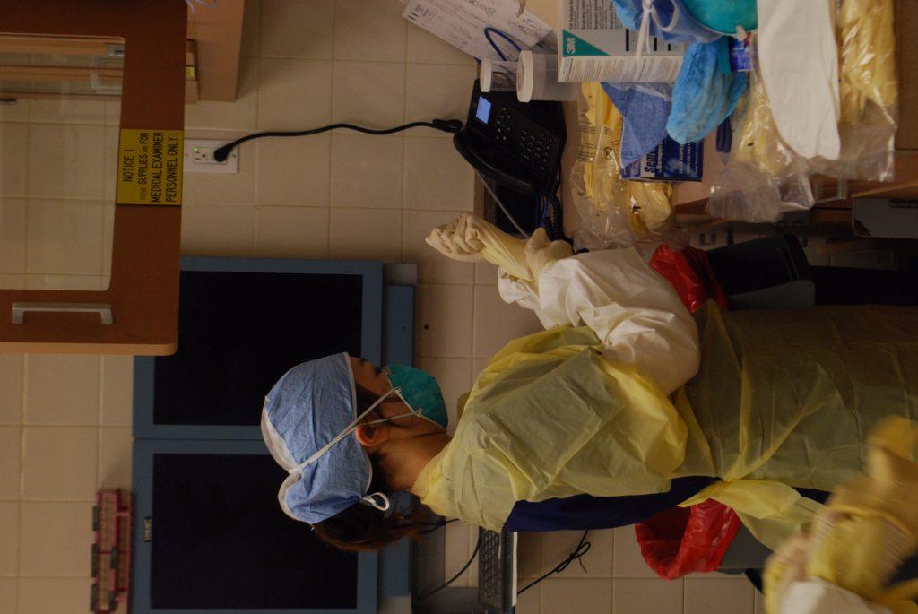 解剖室的工作日常(受訪者提供)