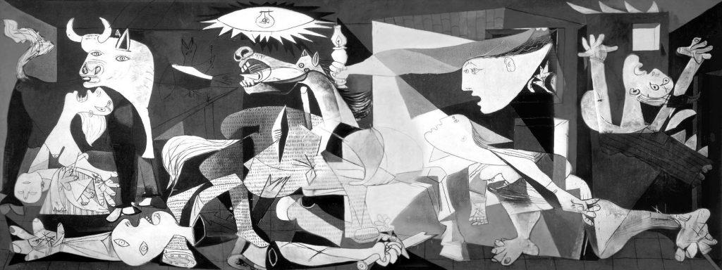 畢卡索最政治性作品Guernica