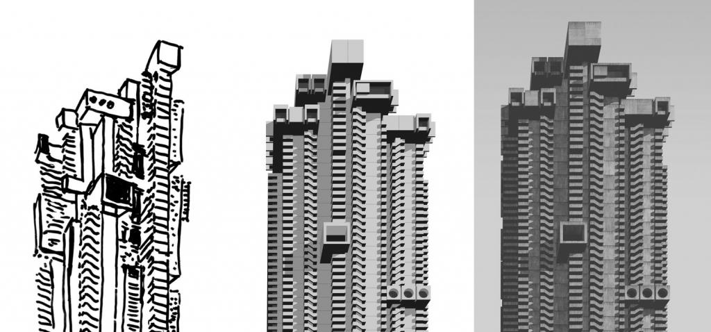 由平面圖到成品,Clemens Gritl認為創作可媲美建築的過程。