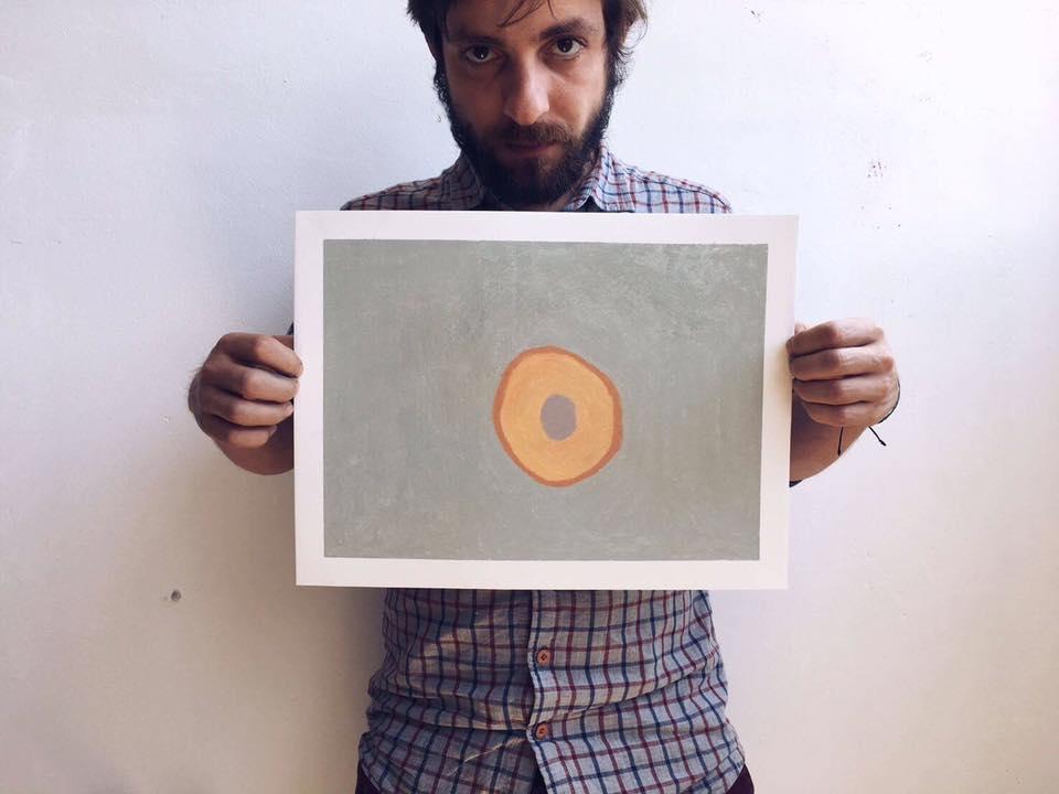 西班牙藝術家Guim Tió以石頭粉彩作畫