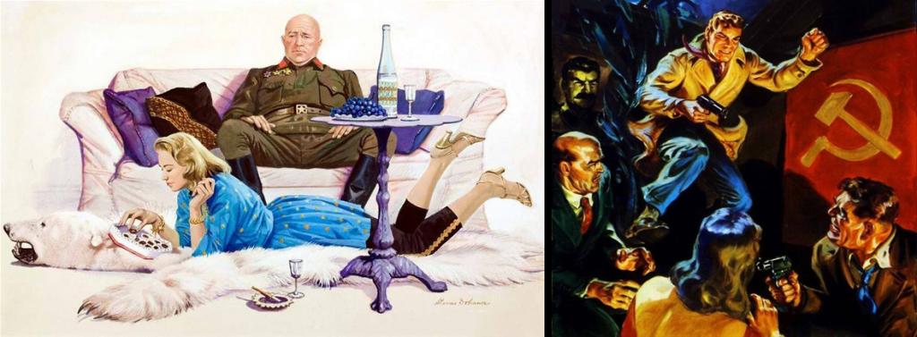 海報有強烈的007電影感。