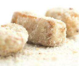 反沙芋 // 細碎糖沙裹著粉香的紫芋,濃甜卻不膩,是潮州人最愛的飯後甜點。($88)