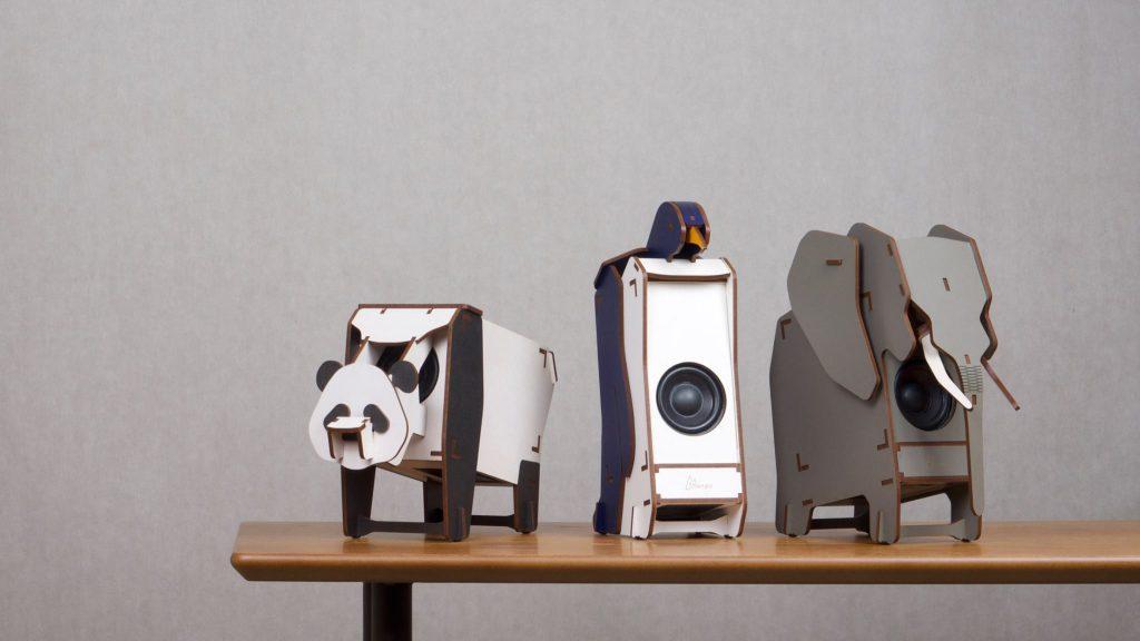 大象、熊貓和企鵝款式屬最新作品,剛在Kickstarter成功集資,大受歡迎。