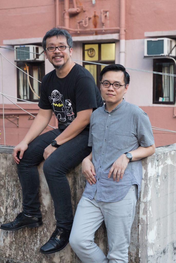 起動社COMMA發起人Wayne(左)和Brian(右)本是同事,希望能用自己的專業知識,為基層帶來改變。