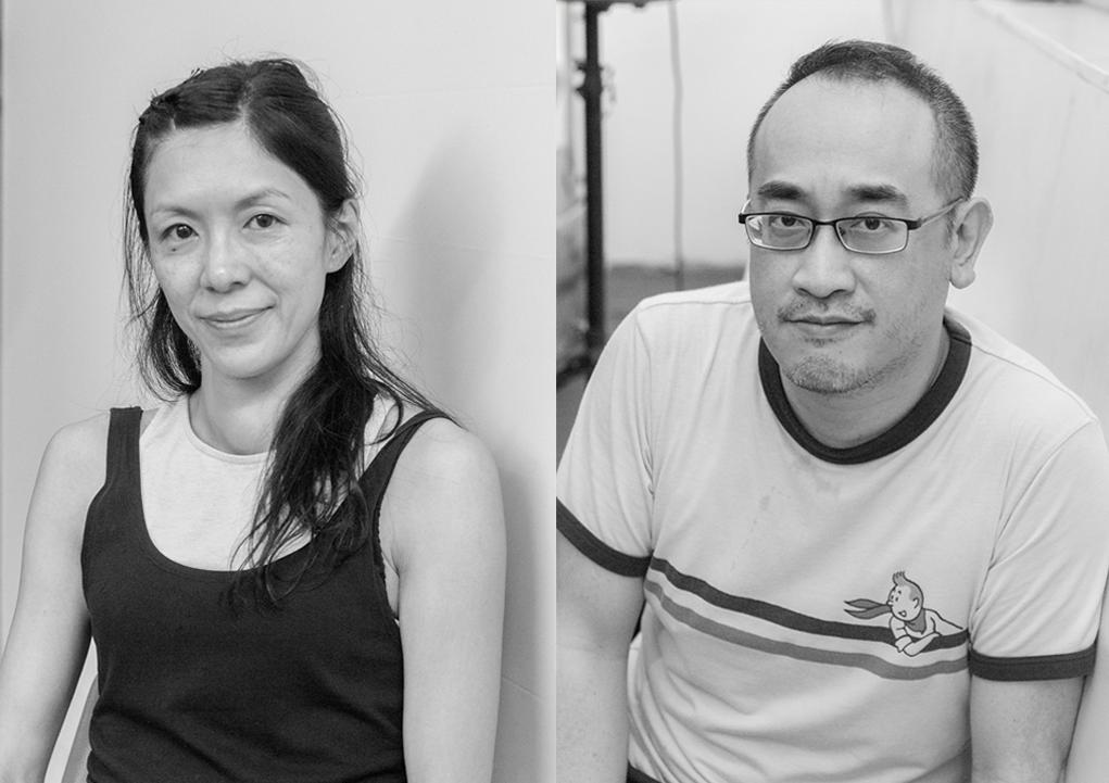 (左)許傲群(Grace)曾赴德國出席呼拉圈藝術節,將呼拉圈編舞引進香港。 (右)黎達達榮多次為《魔笛》設計動畫。