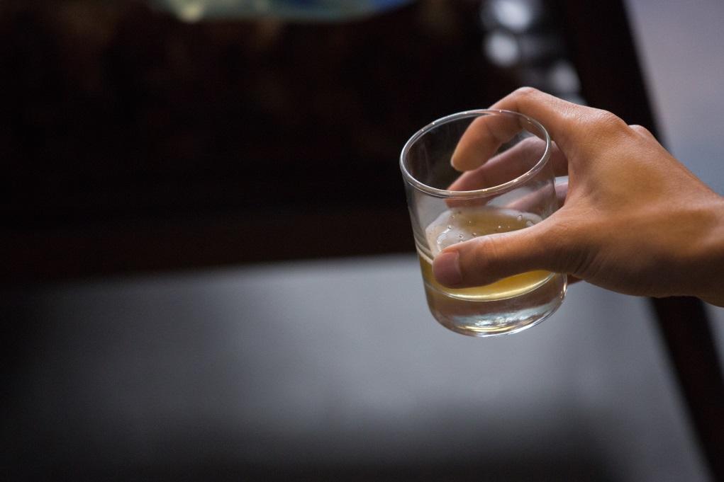 《酒花》討論會於黃竹杭藝術空間舉行,附近同時是釀酒廠的集中地。