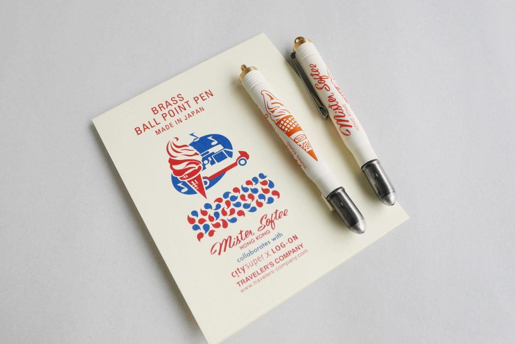 怎能沒有旅人最愛的TRAVELER'S notebook?帶上印着蓮花杯和軟雪糕旅行,望梅止渴!(筆記簿50元起)