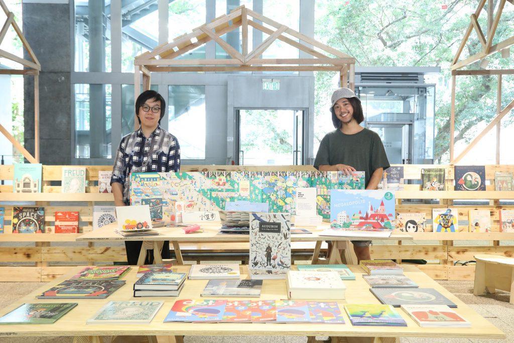 本港獨立出版書店Book B從世界各地精挑逾120本繪本。