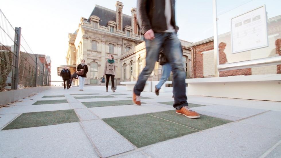 Pavegen以往曾為法國、英國、美國等地的公共空間鋪設可發展的地板。