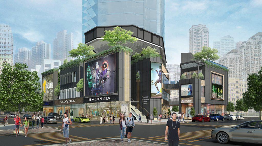 新世界中標的設計卻只剩三層商場,大幅增加住宅單位數量。