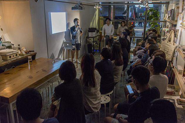 大野友資日前來到香港與參加者分享心得。