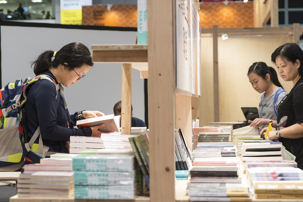 陳隆昊希望擺脫傳統書展的空間設計。