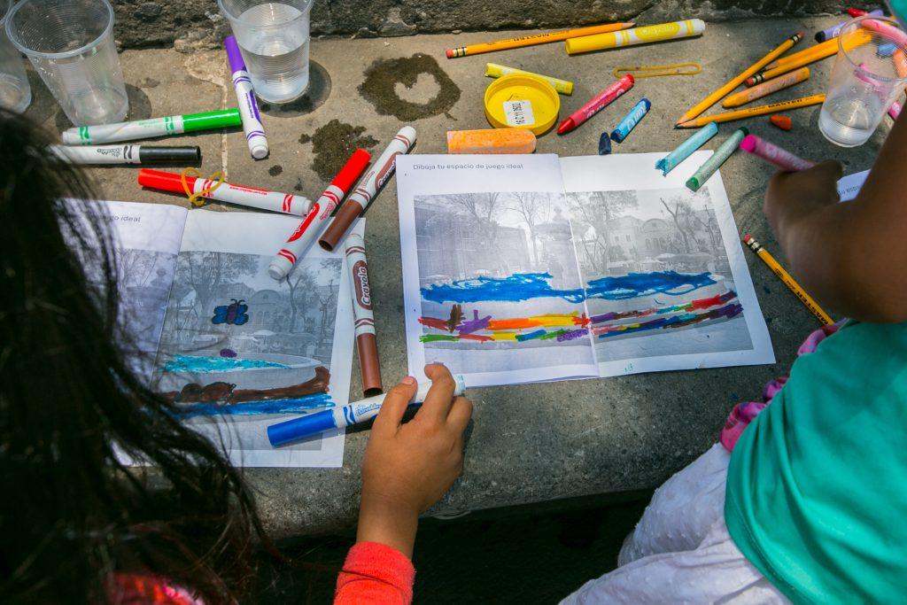 小朋友也是公民創新的力量之一,他們畫下的理想遊戲空間,值得城市規劃的重視。