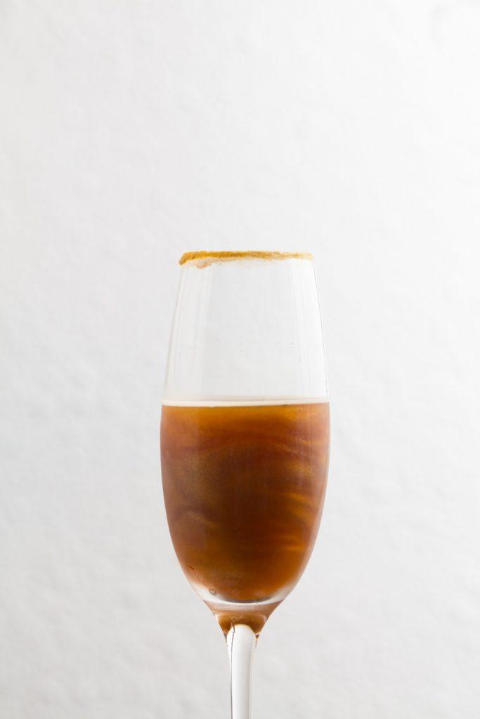 陳冠豪第一次自立門戶,創作不絕,才開店數月已有第二款創意咖啡Twinkle Twinkle。 ($128)